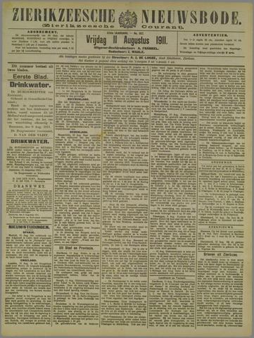 Zierikzeesche Nieuwsbode 1911-08-11
