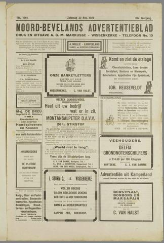 Noord-Bevelands Nieuws- en advertentieblad 1929-11-30