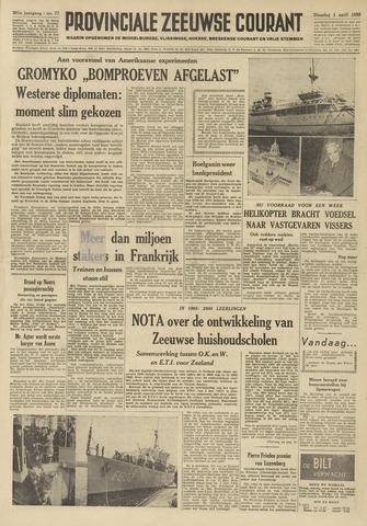 Provinciale Zeeuwse Courant 1958-04-01