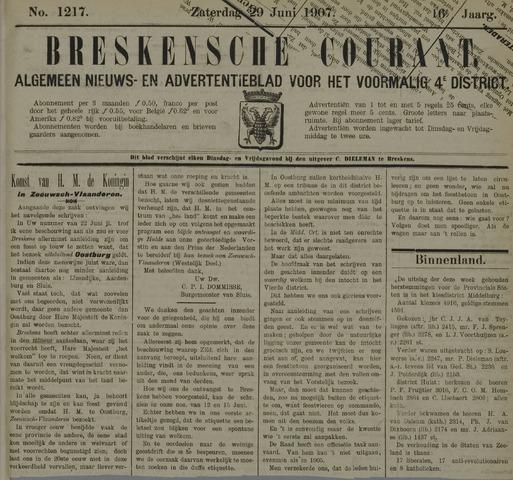 Breskensche Courant 1907-06-29