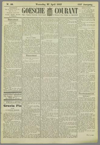 Goessche Courant 1927-04-27