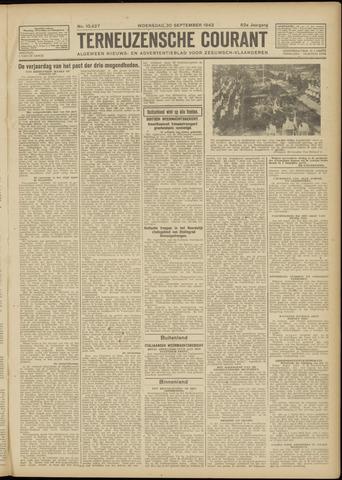 Ter Neuzensche Courant. Algemeen Nieuws- en Advertentieblad voor Zeeuwsch-Vlaanderen / Neuzensche Courant ... (idem) / (Algemeen) nieuws en advertentieblad voor Zeeuwsch-Vlaanderen 1942-09-30