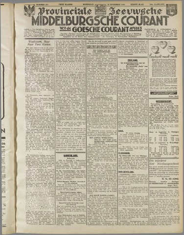 Middelburgsche Courant 1937-11-24