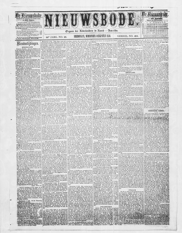 Sheboygan Nieuwsbode 1859-08-03