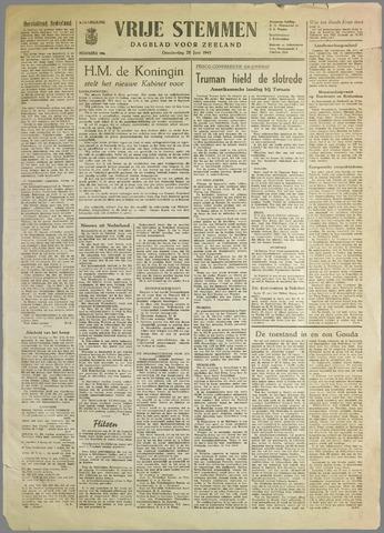 Vrije Stemmen. Dagblad voor Zeeland 1945