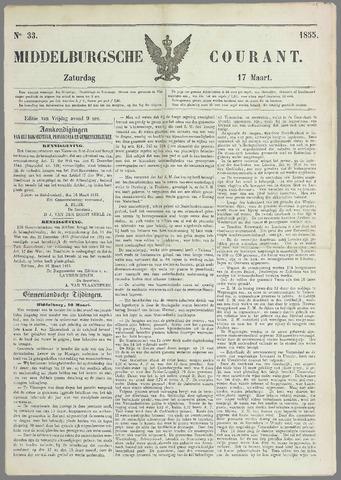 Middelburgsche Courant 1855-03-17