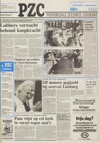 Provinciale Zeeuwse Courant 1987-05-01