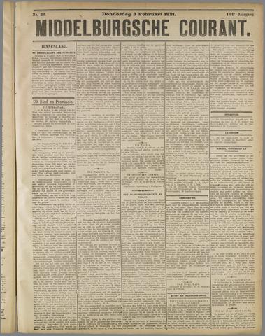 Middelburgsche Courant 1921-02-03