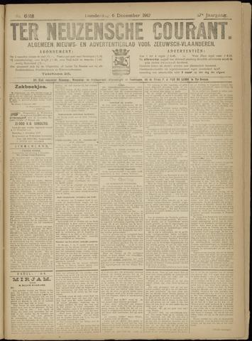 Ter Neuzensche Courant. Algemeen Nieuws- en Advertentieblad voor Zeeuwsch-Vlaanderen / Neuzensche Courant ... (idem) / (Algemeen) nieuws en advertentieblad voor Zeeuwsch-Vlaanderen 1917-12-06