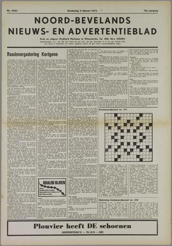 Noord-Bevelands Nieuws- en advertentieblad 1973-02-08