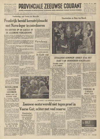 Provinciale Zeeuwse Courant 1960-10-25