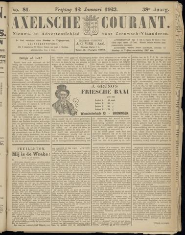Axelsche Courant 1923-01-12