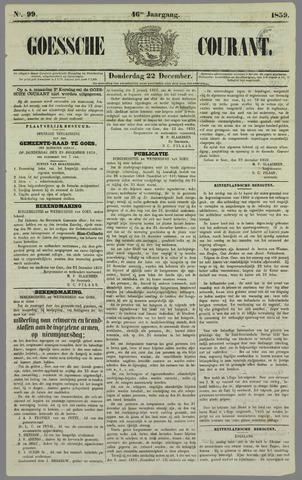 Goessche Courant 1859-12-22