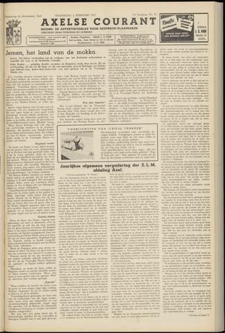 Axelsche Courant 1957-02-06
