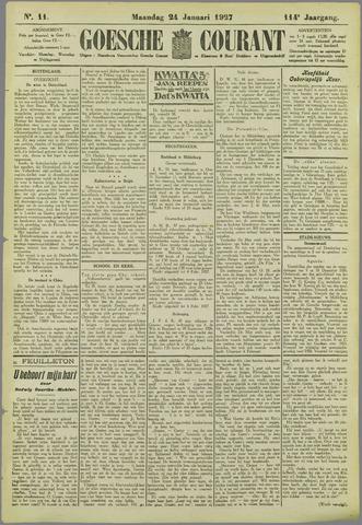 Goessche Courant 1927-01-24