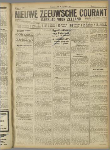 Nieuwe Zeeuwsche Courant 1921-11-14