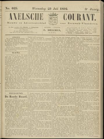 Axelsche Courant 1892-07-20