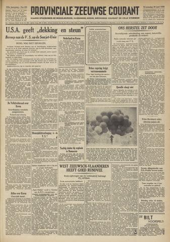 Provinciale Zeeuwse Courant 1950-06-28