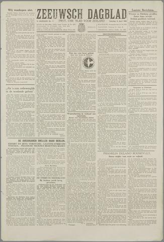 Zeeuwsch Dagblad 1945-04-14