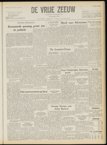 de Vrije Zeeuw 1957-08-17