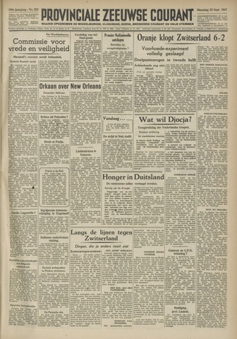 Provinciale Zeeuwse Courant 1947-09-22