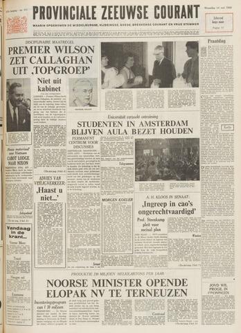 Provinciale Zeeuwse Courant 1969-05-14