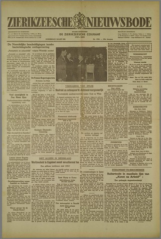 Zierikzeesche Nieuwsbode 1952-03-06