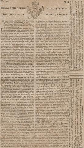 Middelburgsche Courant 1785-01-27