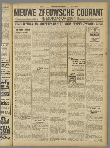 Nieuwe Zeeuwsche Courant 1925-03-28
