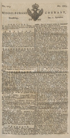 Middelburgsche Courant 1775-09-21