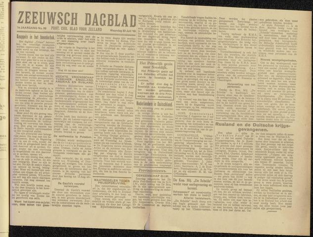 Zeeuwsch Dagblad 1945-07-30