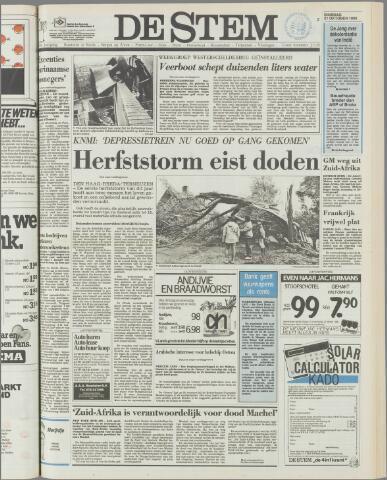 de Stem 1986-10-21