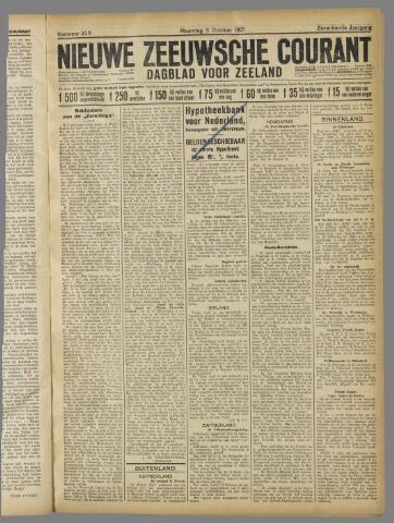 Nieuwe Zeeuwsche Courant 1921-10-03