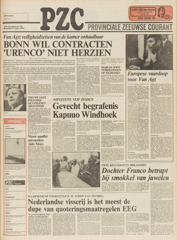 Provinciale Zeeuwse Courant 1978-04-10