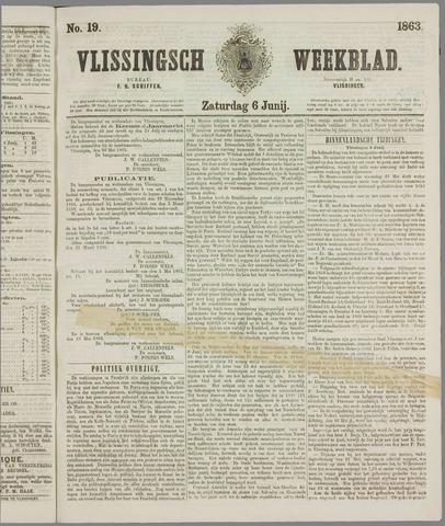 Vlissings Weekblad 1863-06-06