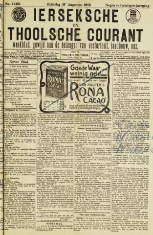 Ierseksche en Thoolsche Courant 1912-08-17