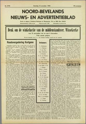 Noord-Bevelands Nieuws- en advertentieblad 1955-11-12