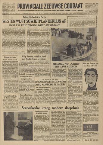 Provinciale Zeeuwse Courant 1958-12-15