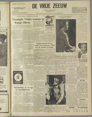 de Vrije Zeeuw 1961-02-17