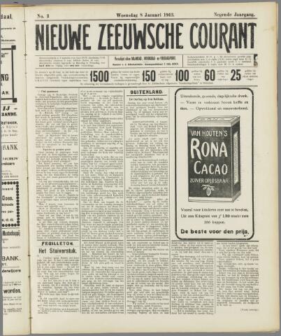 Nieuwe Zeeuwsche Courant 1913-01-08