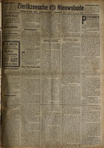 Zierikzeesche Nieuwsbode 1921-12-16