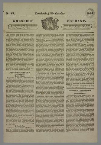 Goessche Courant 1845-10-30