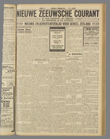 Nieuwe Zeeuwsche Courant 1931-11-07
