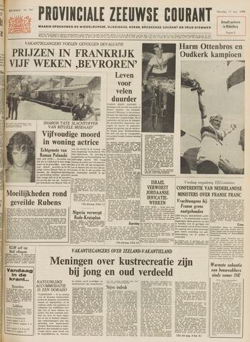 Provinciale Zeeuwse Courant 1969-08-11