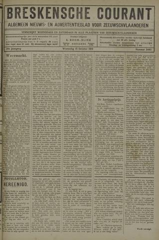 Breskensche Courant 1919-10-15