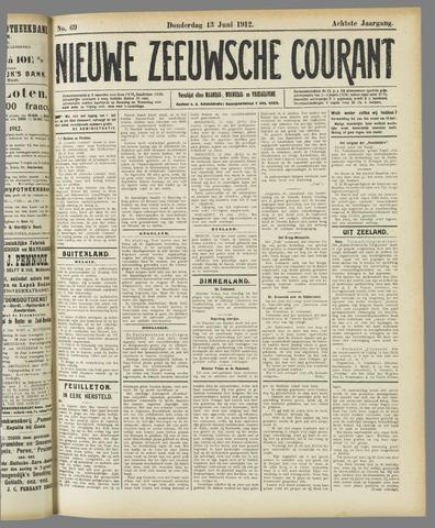 Nieuwe Zeeuwsche Courant 1912-06-13