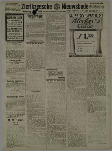 Zierikzeesche Nieuwsbode 1925-10-14