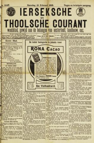 Ierseksche en Thoolsche Courant 1913-02-15