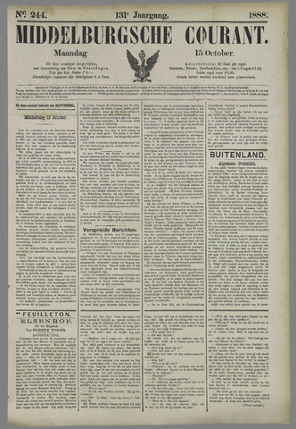 Middelburgsche Courant 1888-10-15