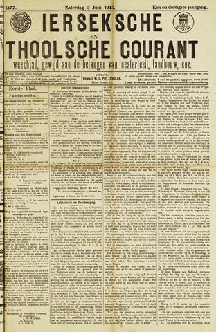 Ierseksche en Thoolsche Courant 1915-06-05